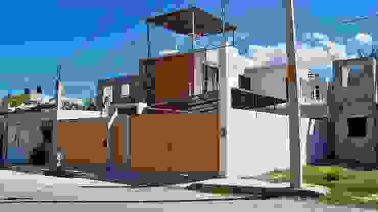proyecto y obra casa habitacion Casas eclécticas de FRACTAL CORP Arquitectura Ecléctico