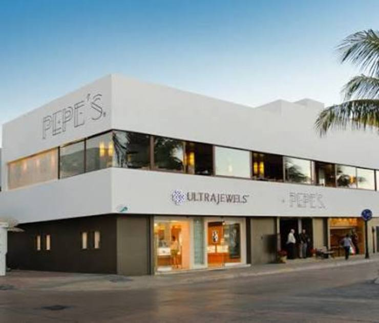 proyecto y obra restaurant Casas eclécticas de FRACTAL CORP Arquitectura Ecléctico