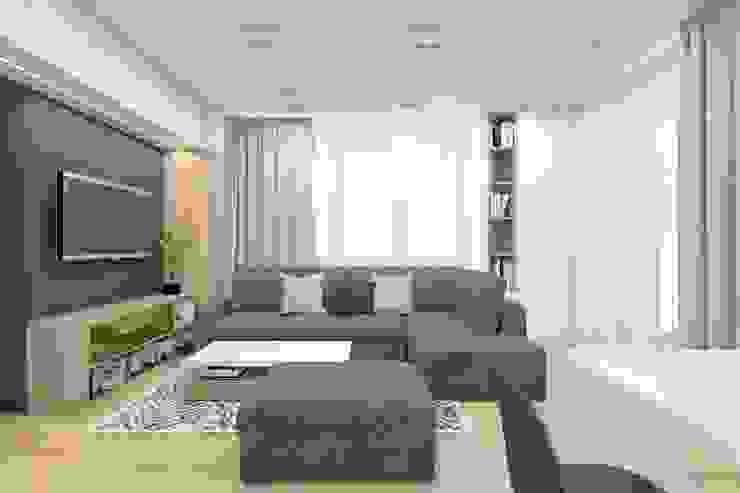 BAGUA Pracownia Architektury Wnętrz Livings modernos: Ideas, imágenes y decoración