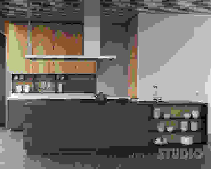 Moderne Küche MIKOLAJSKAstudio Moderne Küchen
