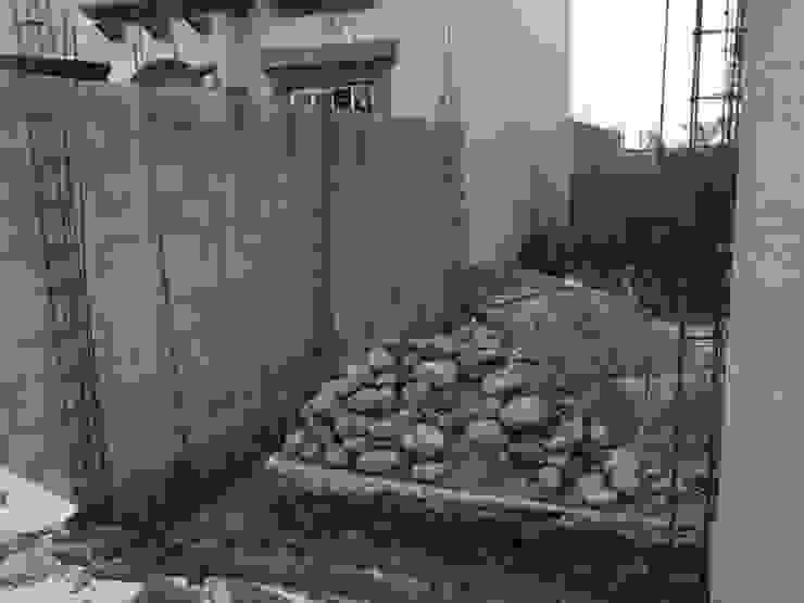 Cimentación Casas mediterráneas de CA ARQUITECTOS Mediterráneo Concreto