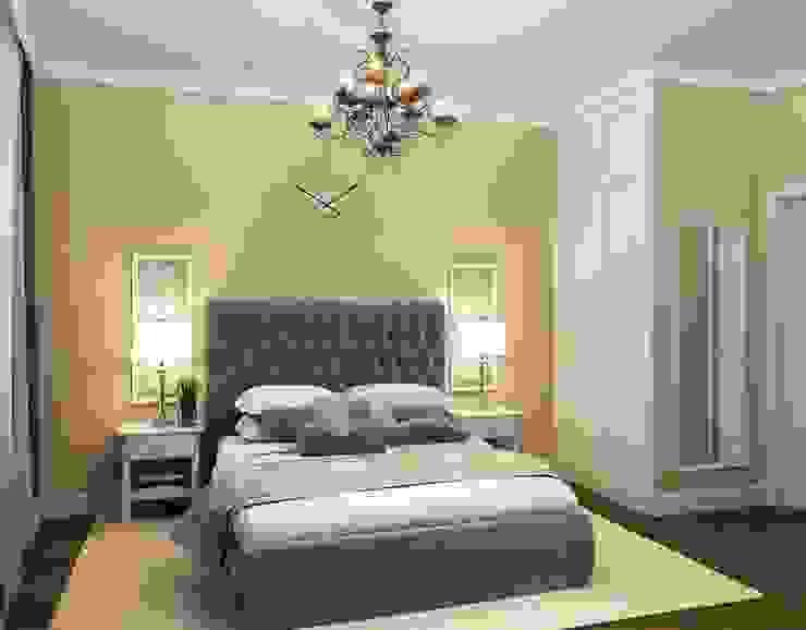Massimos / cтудия дизайна интерьера Camera da letto in stile classico Beige