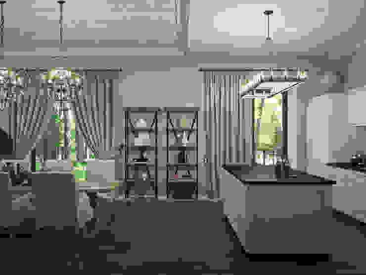 مطبخ تنفيذ Wide Design Group, كلاسيكي