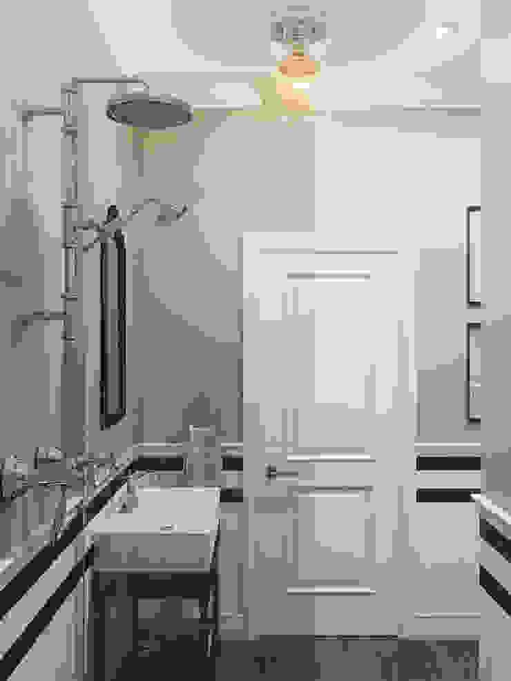 Wide Design Group クラシックスタイルの お風呂・バスルーム
