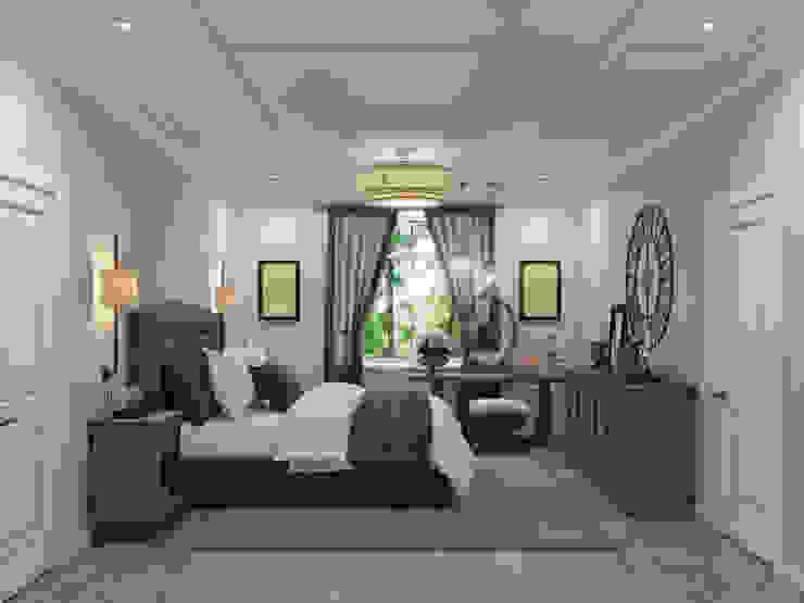 Wide Design Group クラシカルスタイルの 寝室