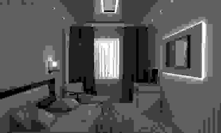 Спальня: Спальни в . Автор – СИРИУS Архитектурное бюро