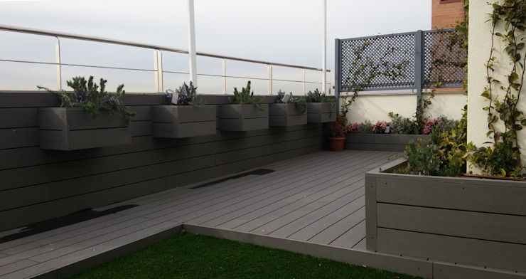 modern  by La Patioteca, Modern Wood-Plastic Composite