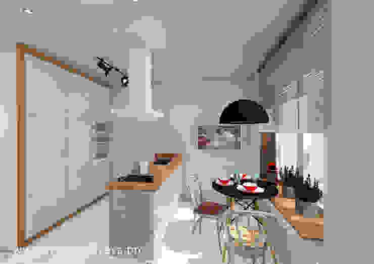 Irina Vasilyeva Eklektyczna kuchnia