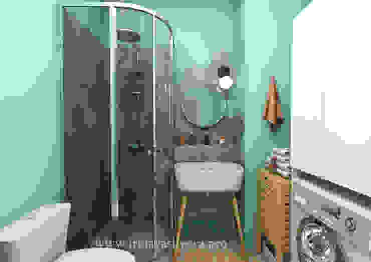 Irina Vasilyeva Eklektyczna łazienka