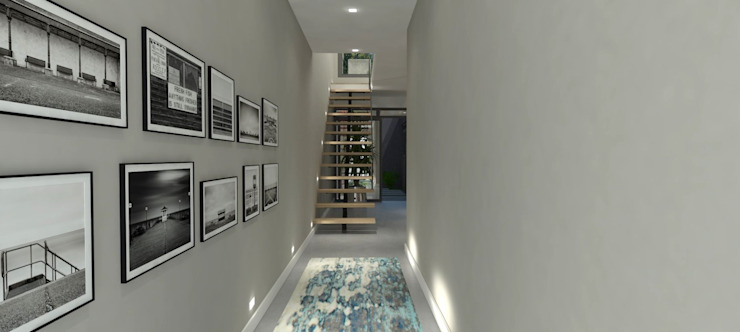 Entrance to house by Holloway and Davel architects
