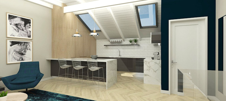 New kitchen by Holloway and Davel architects