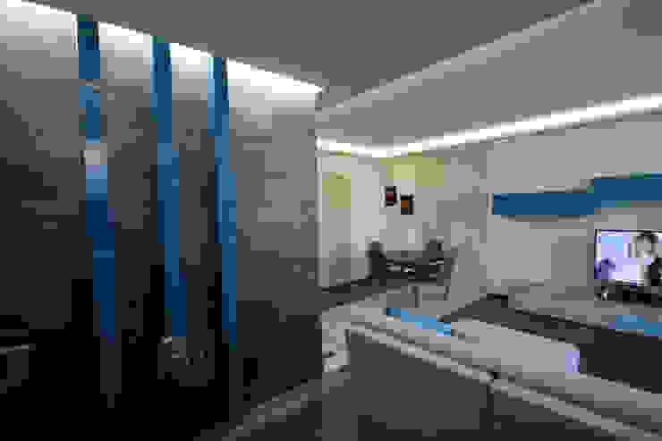 Ingresso, Corridoio & Scale in stile moderno di homify Moderno Legno Effetto legno