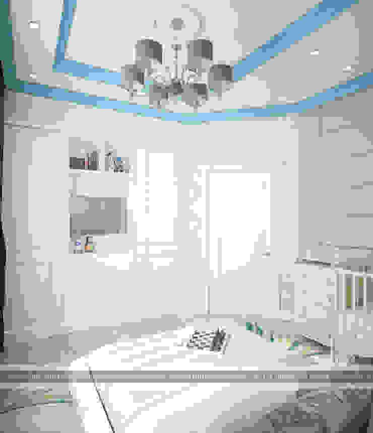 ЖК КЛАССИКА Спальня в классическом стиле от ПЕРВАЯ ИНТЕРЬЕРНАЯ СТУДИЯ Классический