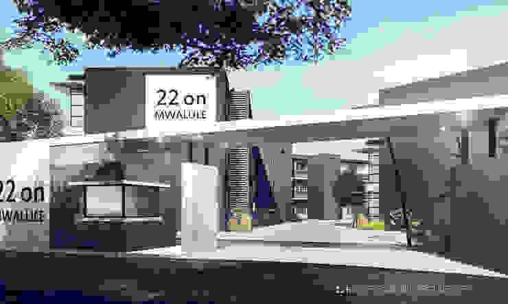 Apartments, Lusaka, Zambia Modern houses by Gottsmann Architects Modern Concrete