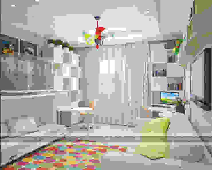 ЖК КЛАССИКА Детская комнатa в классическом стиле от ПЕРВАЯ ИНТЕРЬЕРНАЯ СТУДИЯ Классический