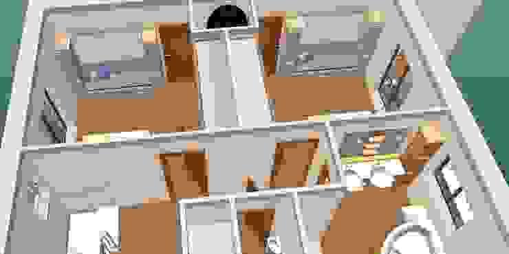 Quarto enfants-3D1 Quartos de criança clássicos por D O M | Architecture interior Clássico