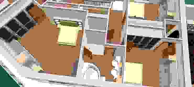 Quarto enfants-3D2 Casas de banho clássicas por D O M | Architecture interior Clássico