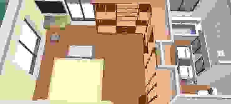 Quarto principal e bain-3D1 Quartos clássicos por D O M | Architecture interior Clássico