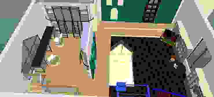 Parque infantil-3D-1 Espaços de trabalho clássicos por D O M | Architecture interior Clássico