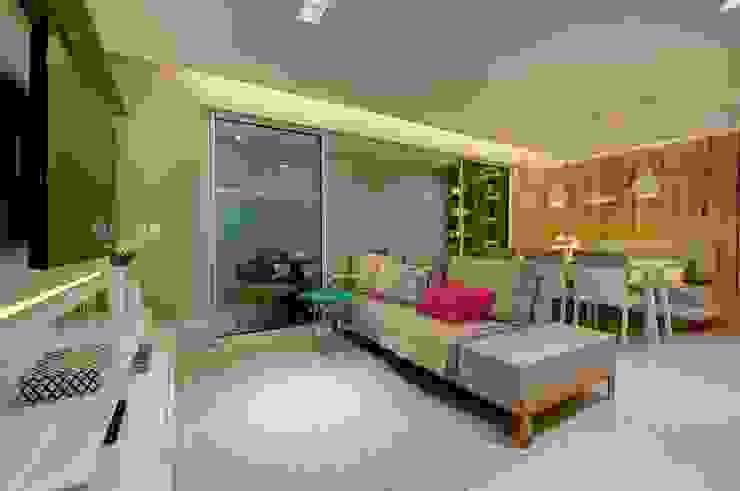 Sala Estar Salas de estar modernas por Dome arquitetura Moderno