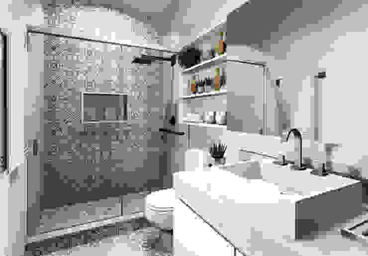 حمام تنفيذ Bloco Z Arquitetura,