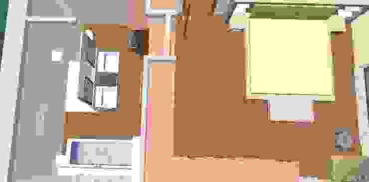 Quarto principal e bain-3D2 Casas de banho clássicas por D O M | Architecture interior Clássico