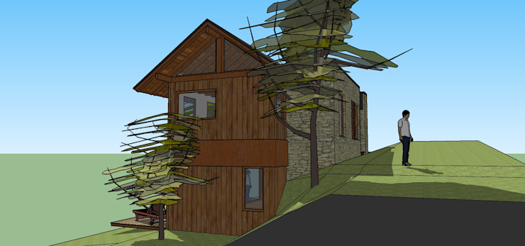 Rustic style houses by Paico Rustic