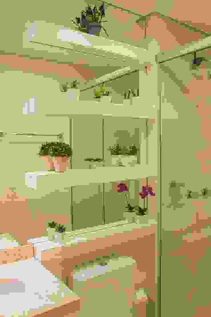 Apartamento S204 Banheiros modernos por Bloco Z Arquitetura Moderno