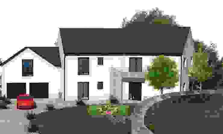 Um projeto de casa em França – a consulta on-line. Casas clássicas por D O M | Architecture interior Clássico