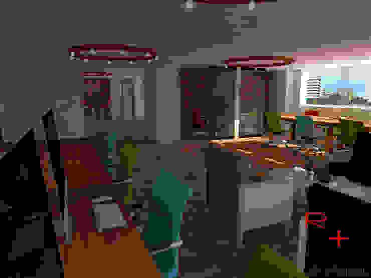 Oficinas CoWorking de REA + m3 Taller de Arquitectura Moderno