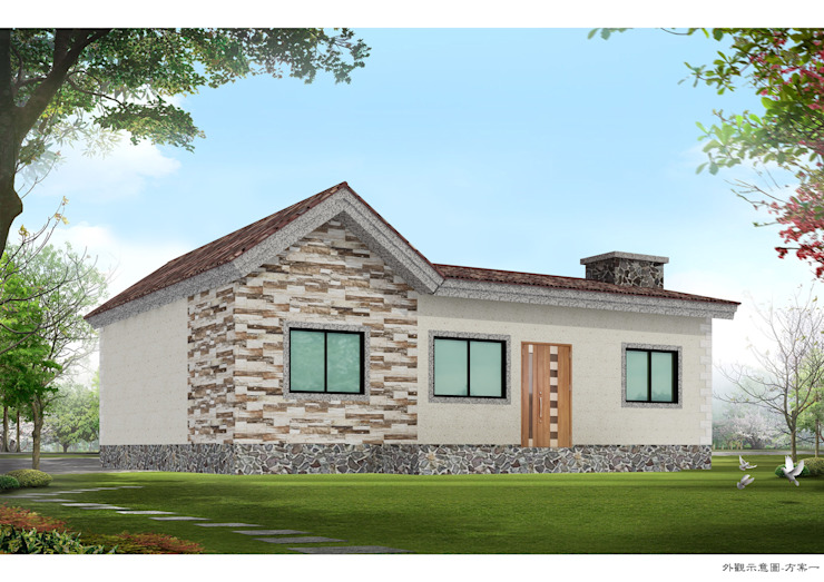 Country style house by homify Country Tiles