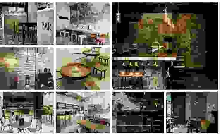 Restaurant Design by Bevel Interior Design
