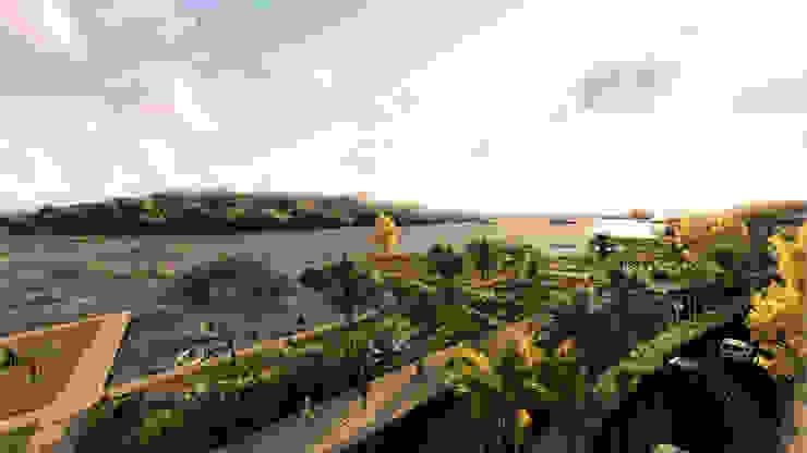 Conección con Río:  de estilo industrial por gOO Arquitectos, Industrial