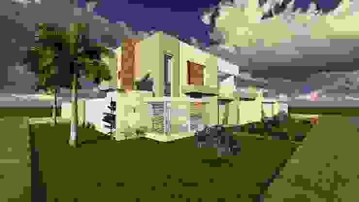 Maisons modernes par Caroline Argenta e Elisangela Chioca Moderne