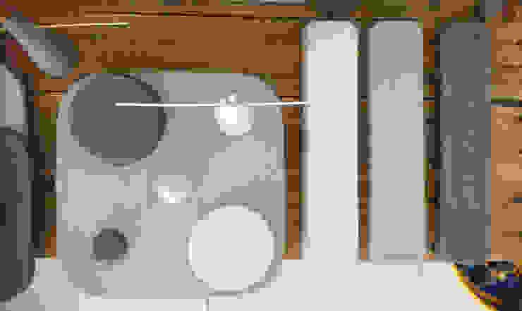 Displays para Joyería de Catorce/21 Moderno Concreto