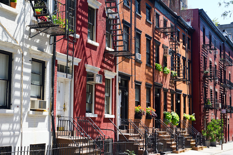 Buildings on Gay Street in Manhattan, New York City by homify