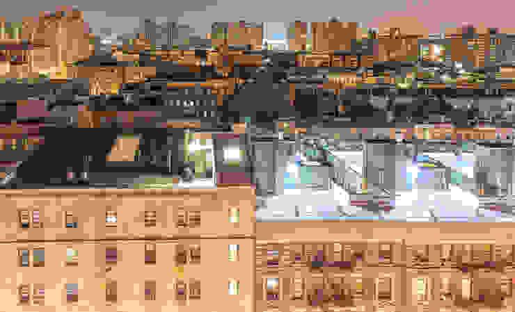 Harlem neighborhood at night, New York City, USA. by homify