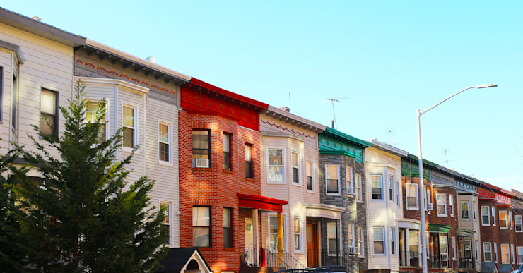Colorful houses in Brooklyn New York by homify