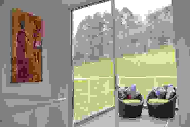 VISTA de KAYROS ARQUITECTURA DISEÑO INTERIOR Moderno Bambú Verde