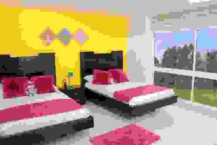Dormitorios de estilo  por KAYROS ARQUITECTURA DISEÑO INTERIOR,