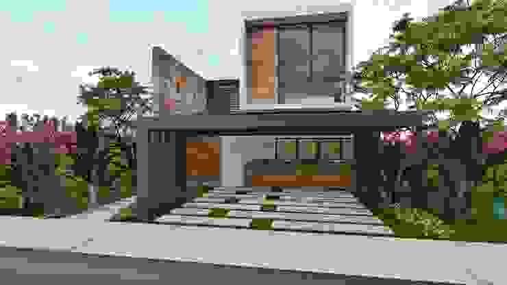 SENDEROS MAYAKOBA Casas modernas de Art.chitecture, Taller de Arquitectura e Interiorismo 📍 Cancún, México. Moderno Derivados de madera Transparente