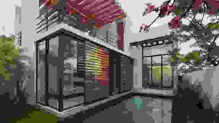Modern Pool by Art.chitecture, Taller de Arquitectura e Interiorismo 📍 Cancún, México. Modern
