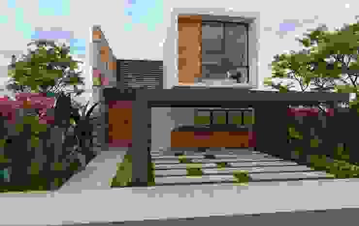 SENDEROS MAYAKOBA Casas modernas de Art.chitecture, Taller de Arquitectura e Interiorismo 📍 Cancún, México. Moderno