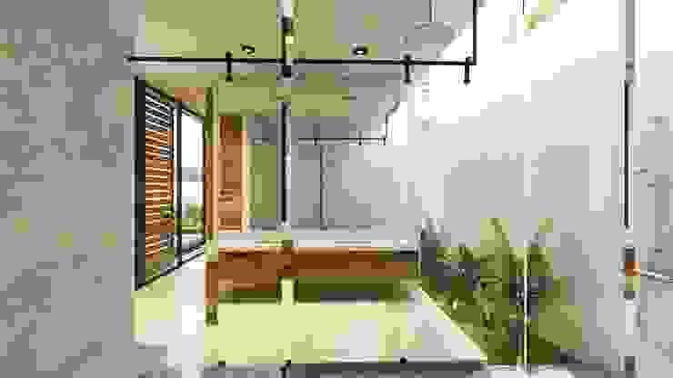SENDEROS MAYAKOBA Baños modernos de Art.chitecture, Taller de Arquitectura e Interiorismo 📍 Cancún, México. Moderno Cerámico