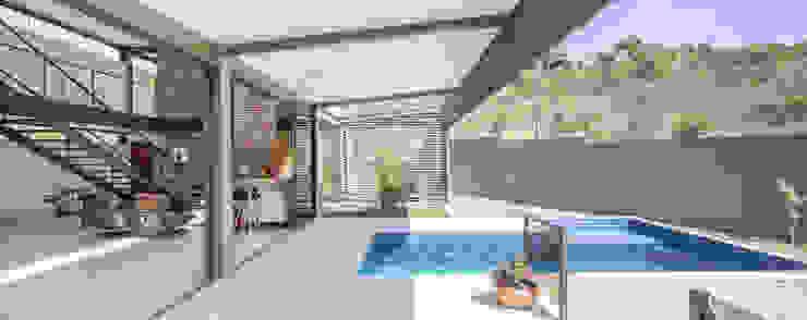 Joana França Balcones y terrazas de estilo moderno