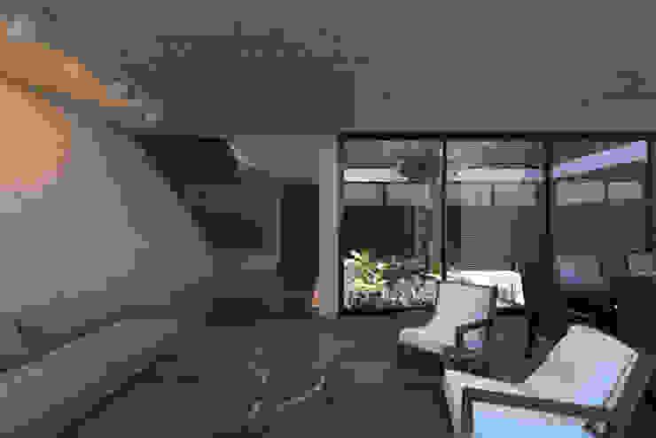 Sala Salones modernos de Studio de Arquitectura y Ciudad Moderno Madera Acabado en madera