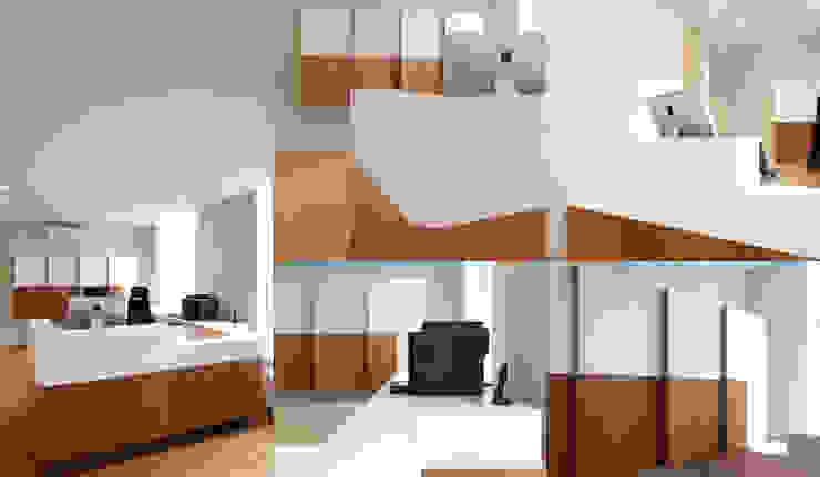 Verbouwing tandartspraktijk De Veste Helmond Moderne gezondheidscentra van gorissendeponti ontwerpers + makers Modern