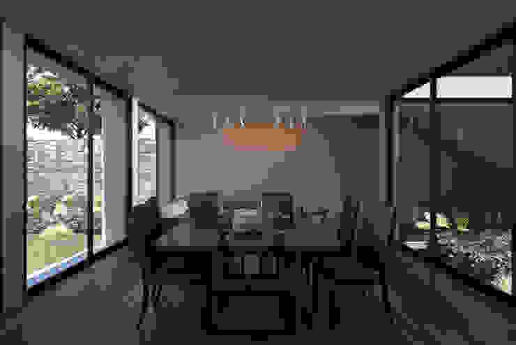 Casa Mariana Comedores modernos de Studio de Arquitectura y Ciudad Moderno Madera Acabado en madera