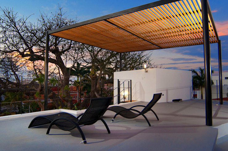 Terrace by FRACTAL CORP Arquitectura, Modern