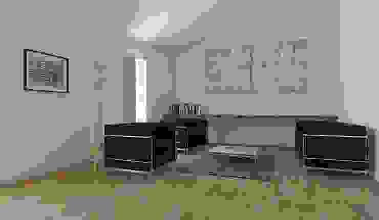 sala Salas de estar modernas por atelier mais - arquitetura e design Moderno